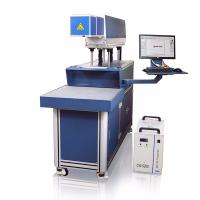 CO2 Galvo Laser Marking And Engraving Machine , Hide Diode Laser Marking Machine for sale