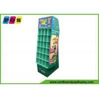 China Promotional Cardboard Pop Displays With Small Pocket Cells And Base Stand POC037 on sale