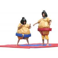 Quality Kids Inflatable Sumo Wrestling Suits Costume ,  Adult Sport Games Blow Up Sumo Wrestling for sale