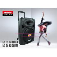 Powered Portable PA Speakers Professional With Lead Acid Battery