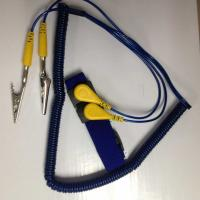 Buy ESD Dual Coiled Cord Elastic Wrist Strap at wholesale prices