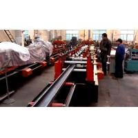 Buy Galvanized Steel C / Z Purlin Roll Forming Machine , C Purlin Production Line at wholesale prices