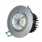 Quality Anti Glare Indoor LED Downlights IP44 CRI96 7w Warm White Color Temperature for sale