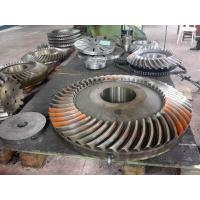 Buy 17CrNiMo6,18CrNiMo7-6,1.6587 Forged Forging Steel Spiral Bevel Gear at wholesale prices