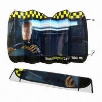 Quality PE Car Sunshades for Front Windows for sale