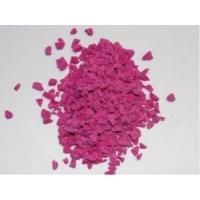 Quality Heat Resistant Coloured Rubber Crumb No Dust TPV Granules For Running Track for sale