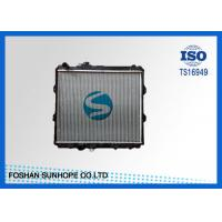 Quality Hilux LN147R 3.0L 1997 5L Toyota Car Radiator 16 / 26 / 32 / 36 Core Thickness for sale