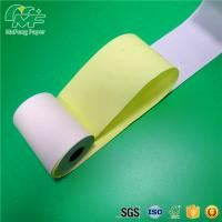China 2 1/4'' Width Carbonless Copy Paper , Two Part Carbonless Printer Paper With Paper Core on sale