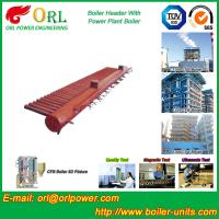 Quality Electrical CFB Boiler Header / Water Header With Natural Circulation for sale
