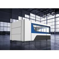 Buy cheap 500w IPG Fiber Laser Cutting Machine 1500x3000mm for Stainless steel from wholesalers