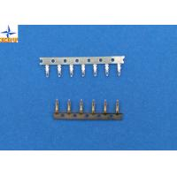 Buy DF14 wire connector crimp terminals with 1.25mm pitch, gold-flash phosphor bronze terminals at wholesale prices