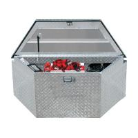 China High quality Waterproof Aluminum Truck Tool Box With Gas Strut on sale