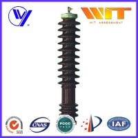 Quality 51KV 10KA Porcelain Housed Surge Arrester Transmission Line Lightning Protection for sale