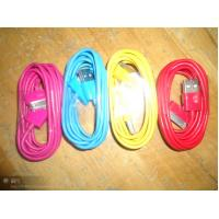 Quality Colorful Hi - speed USB 2.0 Sync Cables for Iphone 4 for sale