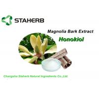 China White Pure Natural Plant Extracts , Emagnolia Bark Extract Powder 2%-98% Honokiol HPLC on sale