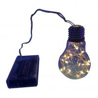 Quality Battery powered copper wire string PET bulb for sale