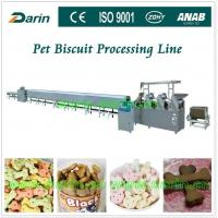 Quality Automatic Pet Food Extruder various mold shape stainless steel biscuit production line for sale
