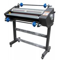 Quality 650mm Hot And Cold Roll Laminator Machine With LCD Display Reverse Function for sale