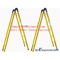 Quality Frp Telescopic and extension ladder,Two-section fiberglass ladders for sale