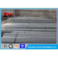 Foundry Steel Ball Steel Grinding Rod / Grinding Cylpebs 75mr / 60Mn / 45# for sale