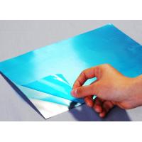 50 Micron Blue Polyethylene Protective Film For Stainless Steel RH05010BL for sale