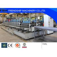 Quality Automatic High Speed Cable Tray Roll Forming Machine With Gearbox Driven Automatic punching holes for sale