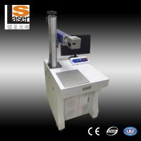 Quality Fiber Laser Marking Machine 20w Stainless Steel Flange Engraving Date Number Marking for sale