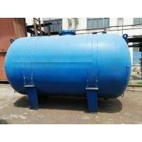 China Horizontal Type Glass Lined Steel Tank , 5000L Glass Lined Water Tank For Chemicals on sale
