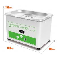 Quality 100-120V / 60HZ 30W 0.8L Ultrasonic Washing Machine for Cleaning Jewelry and Eyeglass for sale