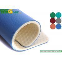 China Gem Stone Style PVC Vinyl Floor Covering For Badminton Court 1.2mm - 1.5 Mm Wear Layer on sale
