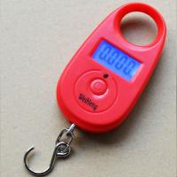Quality Colorful Digital Hanging Scale Tare Function With 1 * CR2032 Battery Power for sale