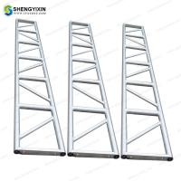 China Hot outdoor Sliver Aluminum truss pipe clamp stage trussing concert truss screw china stage truss for sale