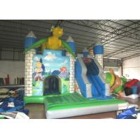 Quality Dragon Design Inflatable Jump House Commercial Grade Digital Printing Fireproof for sale