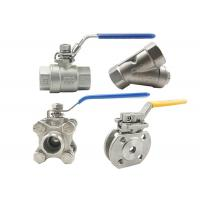 China 304 316 Ss Sanitary Compact Ball Valve NPT Thread With Spiral Wound Gasket for sale
