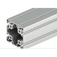 Quality Decorations T - Slot Aluminum Extrusion , Silver Anodized T Slot Extruded Aluminum for sale