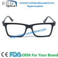 High Fashion Chic Prescription Eyewear in Tortoise Rectangular Spectacle Optical Frame for sale