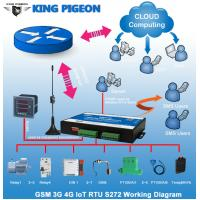 Quality KP Gsm sms rtu controller GPRS modbus data logger with 3g module S272 for sale