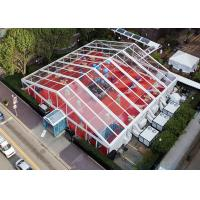 Quality Big Transparent Clear Span Tents With Clear Top For EXhibition / Parties for sale