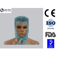 Quality Laboratory Disposable Medical Caps Custom Convenient Breahable For Long Hair for sale