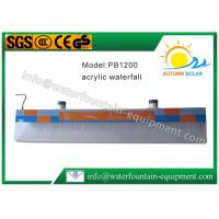 Buy Plastic Water Fountain Equipment Acrylic Water Descent With 12W Underwater Light at wholesale prices