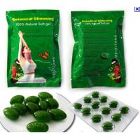 Weight Loss Natural Slimming Capsule , Women Green Meizitang Soft Gel for sale