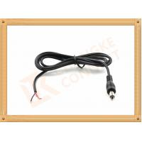 Quality DC 5.5X2.1 mm Power Custom Cable Assembly Red and Black with Male Connector for sale