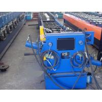 Quality Round / Rectangular Downspout Roll Forming Machine With 20 Roller Stations Germany Rex Valve for sale