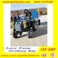 China 2019 New Arrival Tractor Mounted Mobile Water Well Drilling Rig For 200m Depth for sale