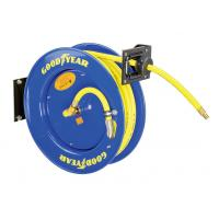 Quality Goodyear 3/8-Inch 500 Feet Steel Hose Reel with Swivel Arm and Mounting Bracket 300PSI for sale