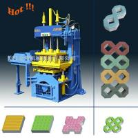 China QTY2-20 Manual Operated Fly ash Paving Brick Block Making Machine For Small Business on sale
