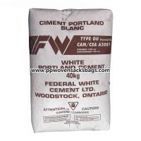 Quality Poland Cement / Block Bottom Kraft Paper Valve Sacks Mineral Packing PP Woven Bags for sale