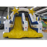 Quality High Slide Mini Inflatable Pool Slide , Waterproof Funny Commercial Slip And Slide for sale