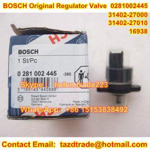 Quality BOSCH Original DRV Valve - PRESSURE REGULATOR 0281002445 , 0281002718 , 31402-27000,27010 for sale