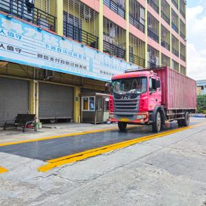 China Weigh Station Scales SCS 80 Ton Weighbridge For Coal Grain on sale